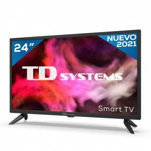 """TV TD SYSTEMS K24DLG12HS 24"""" HD SMART ANDROIDTV WIFI USB HDMI - Imagen 1"""